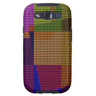 Retro Colorful Polka Dots Disco Pop Art Samsung Galaxy SIII Covers