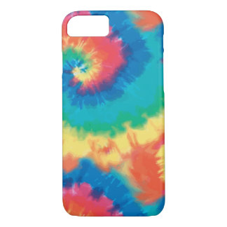 Retro Colorful Tie Dye iPhone 7 Case