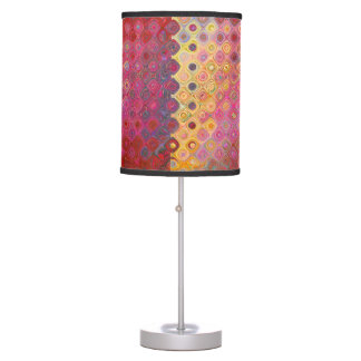 Retro Colorfull Artistic Pattern Lamp