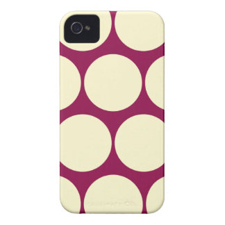 Retro Colors Large Polka Dot Iphone 4/4S Case