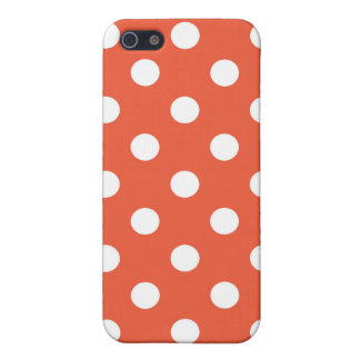 Retro Colors Polka Dot iPhone Case iPhone 5/5S Cover