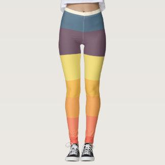 Retro colour range Leggings