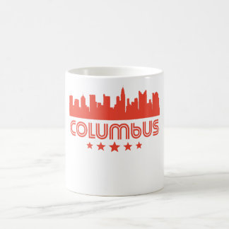 Retro Columbus Skyline Coffee Mug