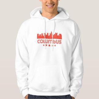 Retro Columbus Skyline Hoodie