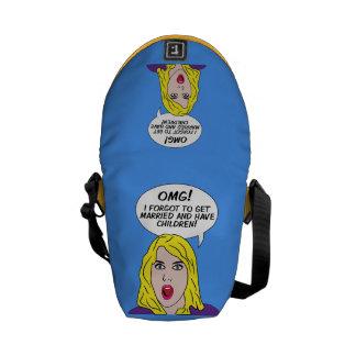 RETRO COMICS mini messenger bag