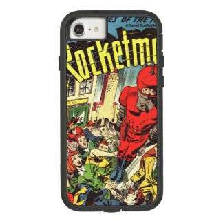 Retro comics - Rocketman Case-Mate Tough Extreme iPhone 8/7 Case