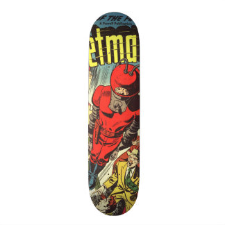 Retro comics - Rocketman Skate Board