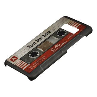 Retro Compact Audio Cassette | DJ Best Gifts Case-Mate Samsung Galaxy S8 Case