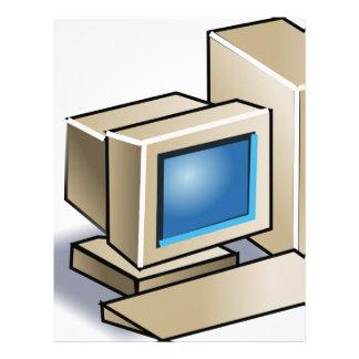 Retro Computer Letterhead