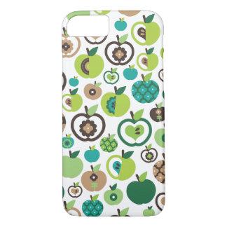 Rétro conception mignonne de motif de fleur coque iPhone 7