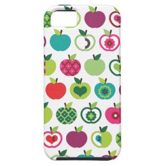 Rétro conception mignonne de motif de fleur de coque Case-Mate iPhone 5