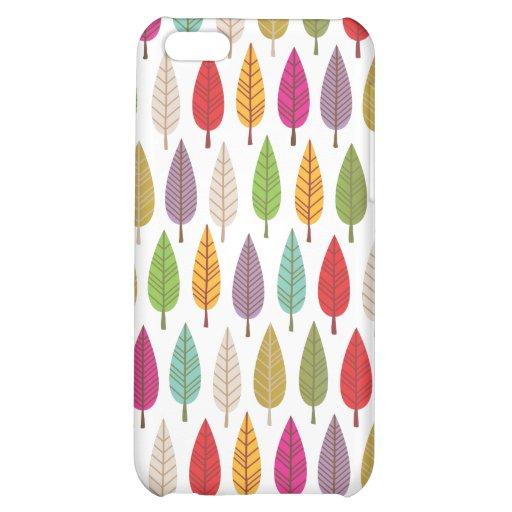 Rétro coque iphone de conception de motif de natur coques iPhone 5C