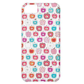 Rétro coque iphone de fruit de motif de pomme coque pour iPhone 5C