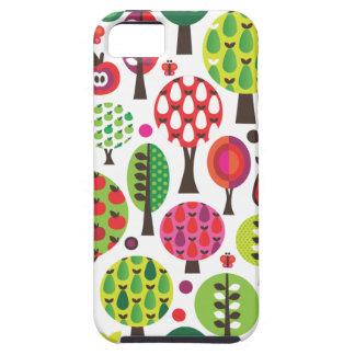 Rétro coque iphone de motif de papillon de pomme d coques iPhone 5 Case-Mate