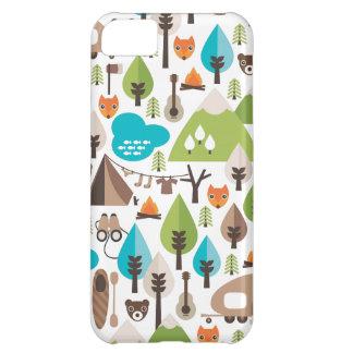 Rétro coque iphone de renard mignon coque iPhone 5C