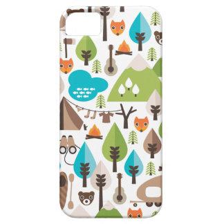 Rétro coque iphone de renard mignon coques iPhone 5