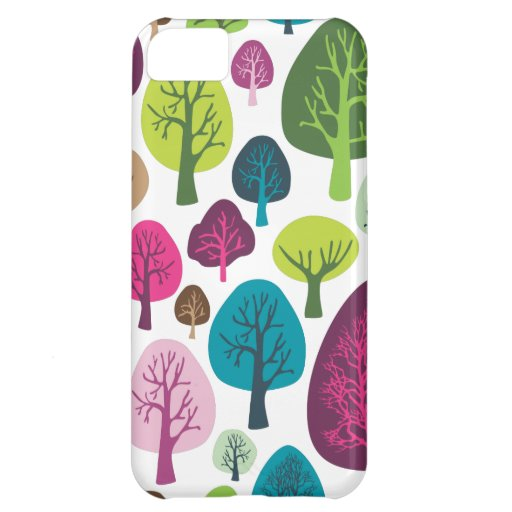 Rétro coque iphone organique de motif de plante d' coques pour iPhone 5C