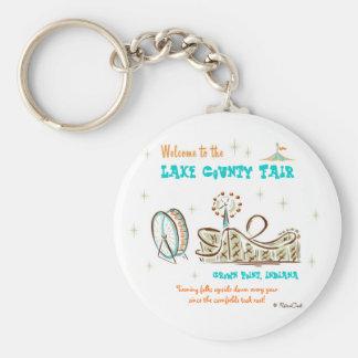 Retro 'County Fair' Keychain