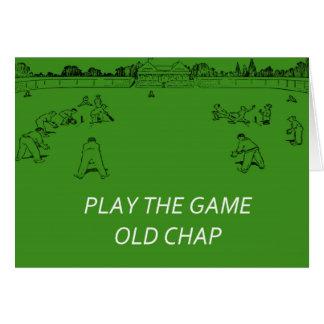Retro Cricket Card