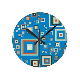 Retro cubes clocks