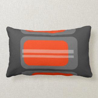 Retro Cubes (Custom Background Color) Pillows