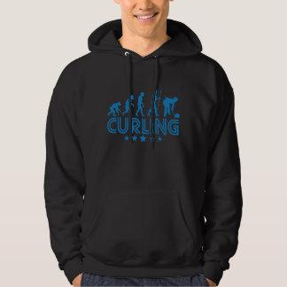 Retro Curling Evolution Hoodie