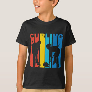Retro Curling T-Shirt