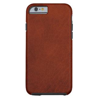 Retro Custom Leather Tough iPhone 6 Case