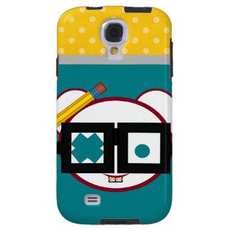Retro Cute Nerd Oodle Galaxy S4 Case