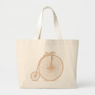 Retro Cycle Tote Bags