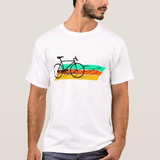 Retro Cycling bicycle T-shirt