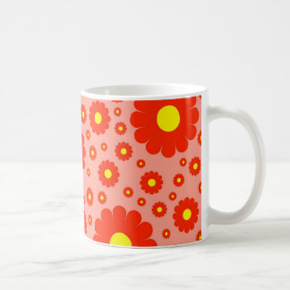 Retro Daisies Coffee Mug
