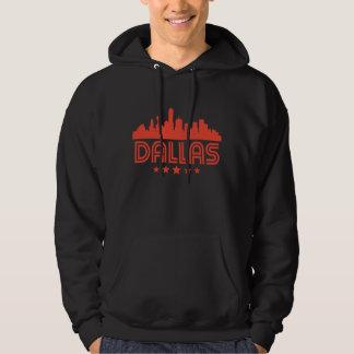 Retro Dallas Skyline Hoodie