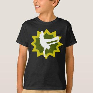 Rétro danseur de coupure t-shirt