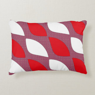 Retro decaying accent pillow