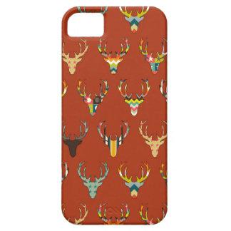retro deer head russet iPhone 5 cases