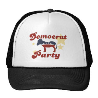 RETRO DEMOCRAT DONKEY HATS