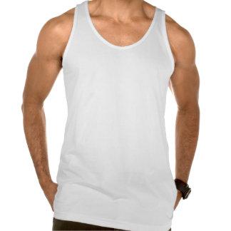 Rétro dessus de souvenir de feuille d'érable de dé tee-shirts sans manches