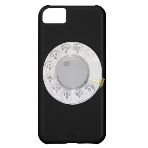 Retro dial phone funny old school telephone mobile iPhone 5C covers