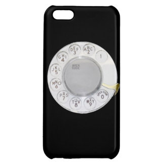 Retro dial phone funny old school telephone mobile cover for iPhone 5C