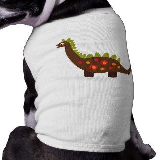 rétro dinosaure manteaux pour animaux domestiques