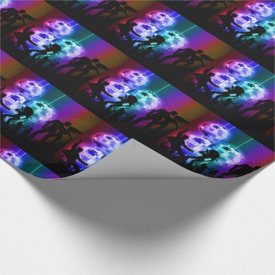 Retro Disco Ball Party Theme with Rainbow Colours