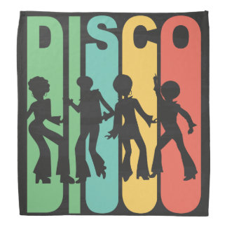 Retro Disco Bandana