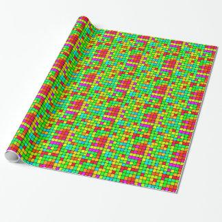 Retro Disco Colorful Squares