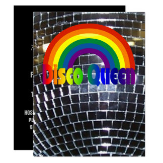 Retro Disco Dance Party | 70s Party Disco Ball Card
