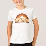 Retro Dodgeball Champion Kids Ringer T-Shirt
