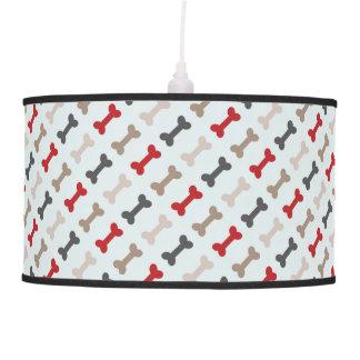 Retro Dog Bone Pattern Pendant Lamp