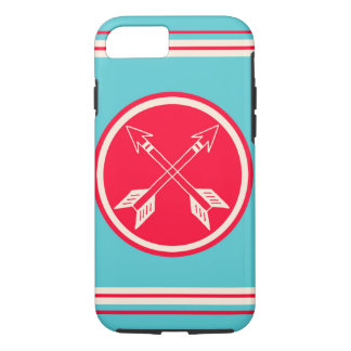 Retro Double Arrows Hipster iPhone 7 Cases