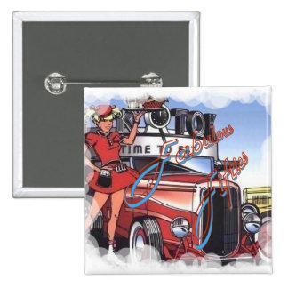 Retro Drive Inn Pin
