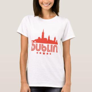 Retro Dublin Skyline T-Shirt
